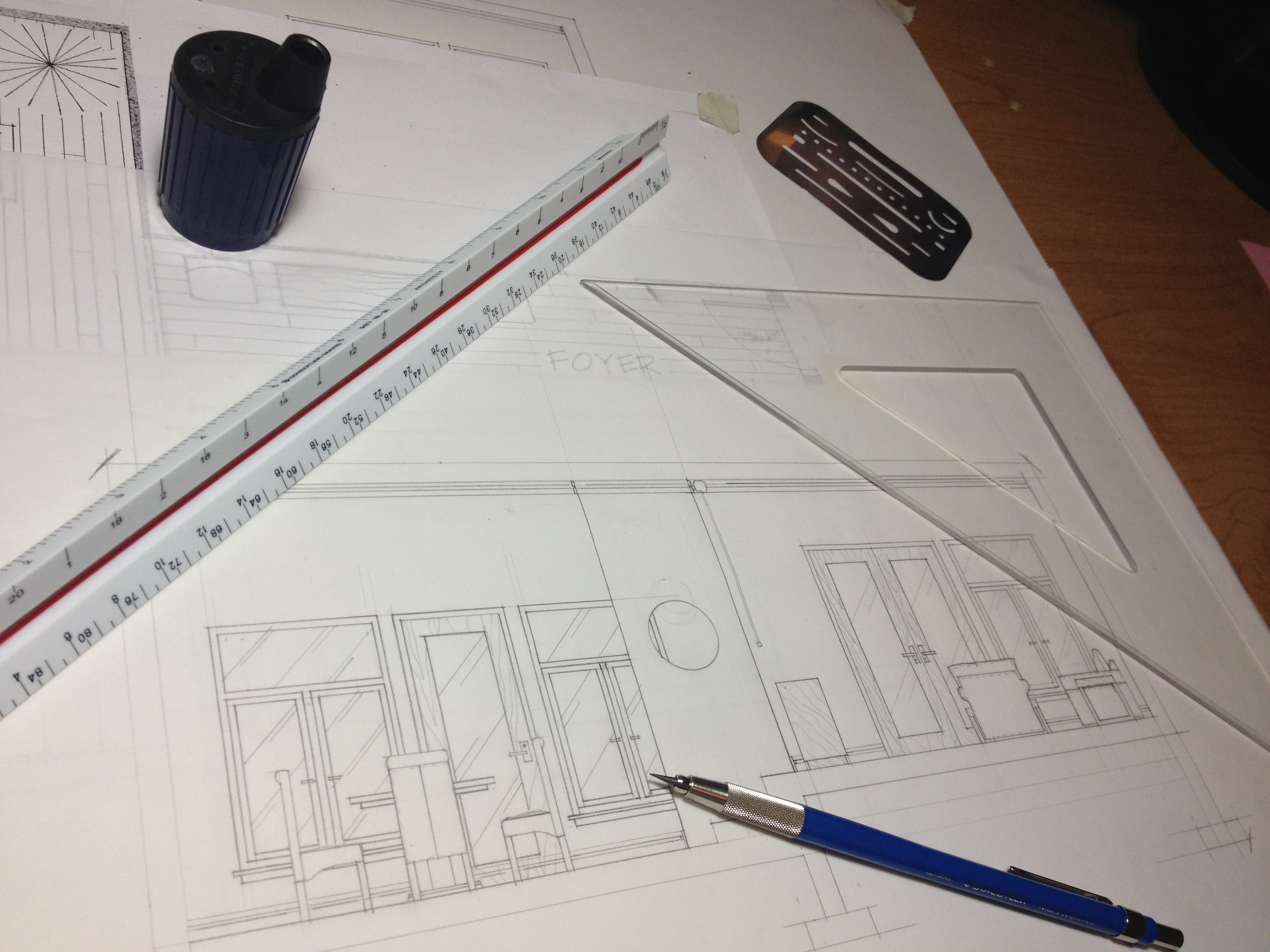 Hand Drafting Photo